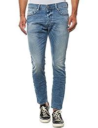 Diesel Homme Tepphar 842H Slim Carrot Jeans, Bleu