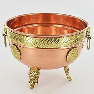 Bol de cobre Pentagram grande