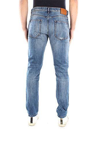 KV0DEJC02MS518 Valentino Jeans Herren Baumwolle Blau Blau
