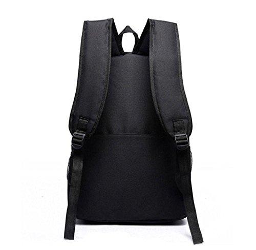 Pokemon-Go-negro-luminoso-mochila-hombros-bolsa-porttil-bolsa-mochila-nuevo