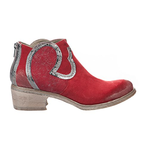 Boots femme - KHRIO - Rouge - 7508 - Millim Rouge
