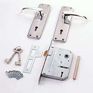 Internal Lever Lock Set With Victorian Style Handles