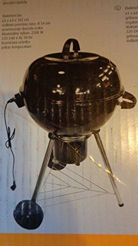 Großer Elektro-Kugel-Grill mit Deckel ø 54 cm