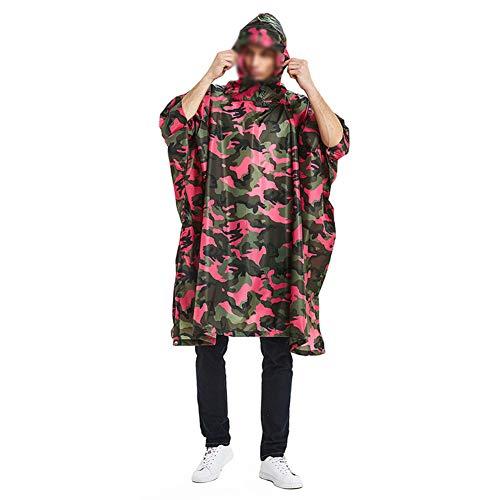 Yuycca Erwachsener Regenbekleidung,Wiederverwendbar Atmungsaktiv Regenjacken Multifunktional Fahrradschutzkleidung,Fliesen Können als Fußmatten