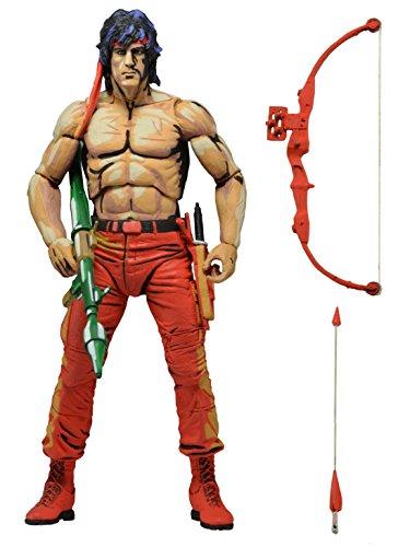 Neca rambo 2 figurine john rambo video game