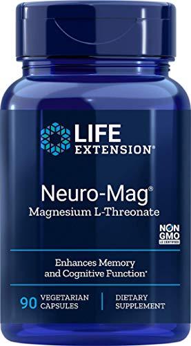 Life Extension, Neuro-Mag, L-Treonato de magnesio, 90 Cápsulas vegetarianas