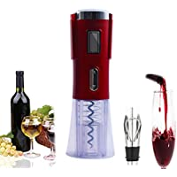 Abrelatas eléctrico del vino, kit automático automático del abrelatas del vino del sacacorchos sin cuerda