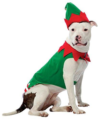 Rasta Imposta Pet Weihnachten Kostüm Elf XL