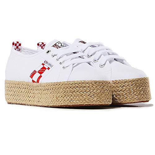 MC2 Damen Schuhe Mod. Avenue Superga x Weiß - 39 -