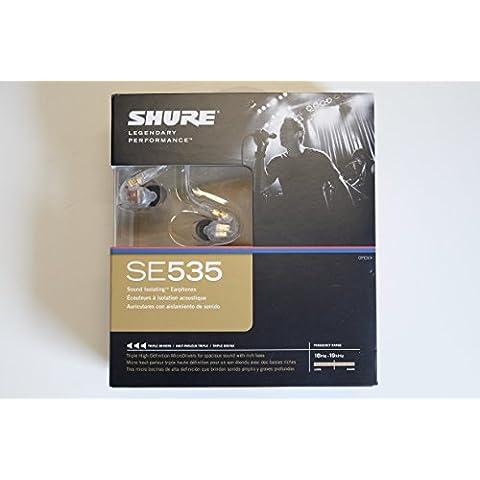 Shure SE535-CL-EFS - Auriculares con aislamiento del ruido