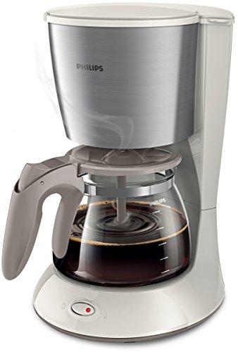 Philips HD7462/01 Daily Collection Filter-Kaffeemaschine, weiß/Metall