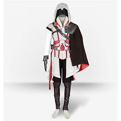 Adf-Cosplay costume Herrenbekleidung Anime-Rollenspiel Assassins Creed Verstecktes Blatt Kleidung (Size : - Kostüm Cosplay Von Assassin's Creed 3