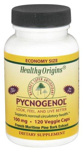 Healthy Origins - Pycnogenol 100 mg. - 120 Vegetarische Kapseln