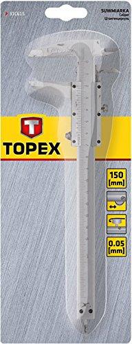 Topex Calibro a corsoio, 150 mm, 31C615