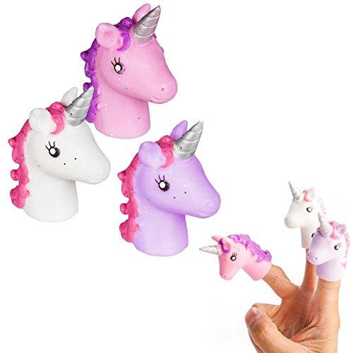 Une-marionnette--doigt-licorne-jouet-pour-main-rigolo-Unicorn-finger-puppet