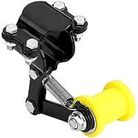 EKADA Negro Universal Tensor de cadena de ajustador Rodillo de perno Herramienta de accesorios modificados para motocicletas