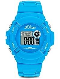 s.Oliver Jungen-Armbanduhr Digital Plastik SO-2386-PQ