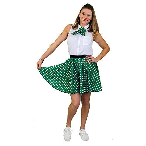 ILOVEFANCYDRESS I Love Fancy Dress ilfd7032ps Damen Kurz Polka Dot Rock Länge-43,2cm lang/UK 14-18