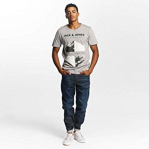 JACK & JONES Herren Oberteile/T-Shirt jcoWild Grau