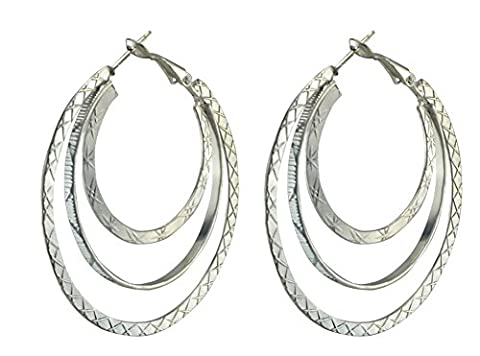 SaySure - Bohemian style Fashion Vintage Three Hoops