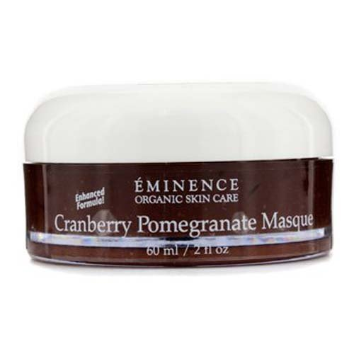 Eminence Organic Skincare Masque, Cranberry Pomegranate, 2 Fluid Ounce