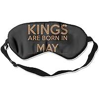 Kings Are Born In May 99% Eyeshade Blinders Sleeping Eye Patch Eye Mask Blindfold For Travel Insomnia Meditation preisvergleich bei billige-tabletten.eu