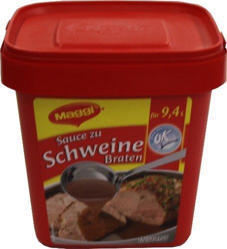 Maggi Sauce zu Schweinebraten 900 g, 1er Pack (1 x 0.9 kg) -