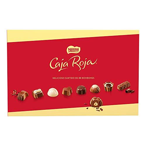 Nestlé Caja Roja Bombones de Chocolate -  Bombones 800 gr