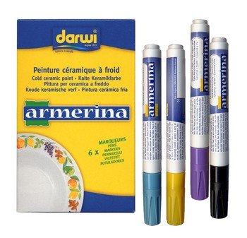Sur Jute (Armerina Kalte Marker, Keramik, Mehrfarbig, 6ml, 6Stück)