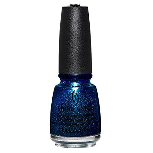 China Glaze Nail Colour (China Glaze Nail Lack mit hardeners, 14ml, blue-ya.)