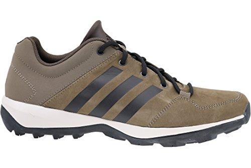 adidas DAROGA PLUS LEA - Scarpe da ginnastica exterior da Uomo, taglia 41,1/3, colore Grigio