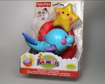 Fisher Price Amazing Animals 'Tubtime Friends' Baby's Bath Tub Toy
