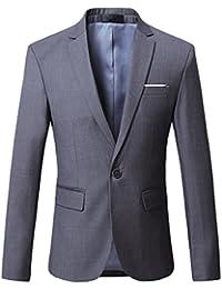a7a1bb9c4971f Amazon.it  Grigio - Blazer   Abiti e giacche  Abbigliamento