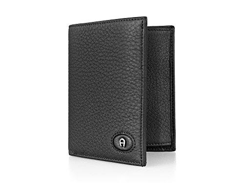 Hochformat Herren Geldbörse von AIGNER (0007 Black)