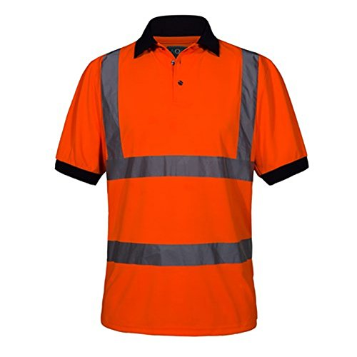short-sleeve-bird-eye-knitted-polyester-polo-shirt-with-contrasting-navy-collar-cuffs-orange-size-sm