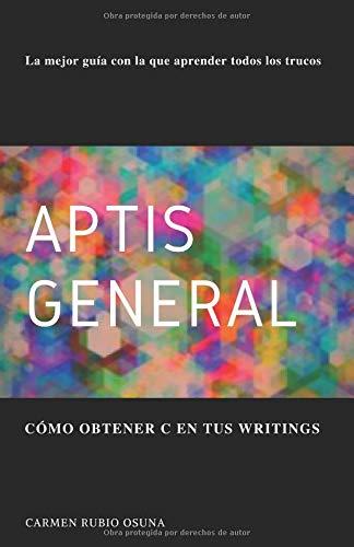 Aptis General: Cómo obtener C en tus writings por Carmen Rubio Osuna