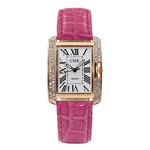 Uhren Damen Armbanduhr Uhrenarmband Frauen Quarz Analog Uhr Handgelenk kleine Armbanduhr Vorwahlknopf-zarte Uhr Luxusgeschäfts Uhren ABsoar