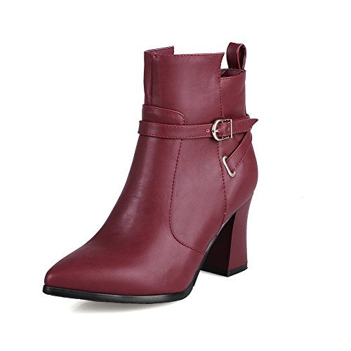 allhqfashion-womens-soft-material-zipper-pointed-closed-toe-high-heels-low-top-boots-claret-40
