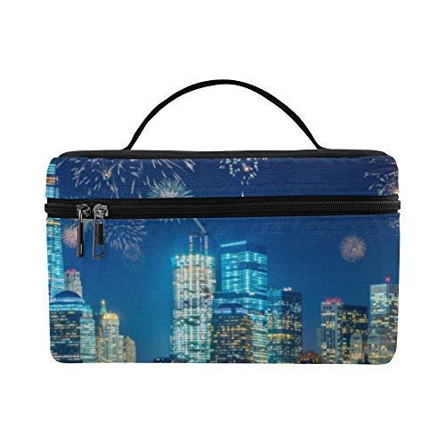 New York City Wahrzeichen Freiheitsstatue Muster Lunchbox Tote Bag Lunch Holder Isolierte Lunch Cooler Bag für Frauen/Männer/Picknick/Bootfahren/Strand/Angeln/Schule/Arbeit (Party-stadt New City York)