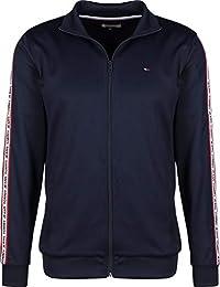 Tommy Jeans Hombre Chaqueta Regular de Atletismo, Azul