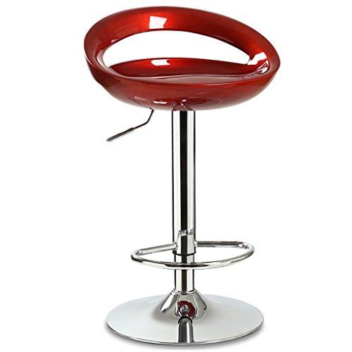 Zurück Bar Stuhl (OLDJTK Barstuhl Lift Stuhl Hause zurück bar barhocker dreh bar Stuhl barstuhl hochstuhl Lift Stuhl (Color : B))