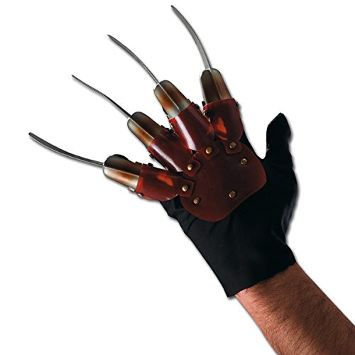 Handschuh mit lahmen Hand Krallen Freddy Krueger Kostüm (Freddy Krueger Hand Kostüm)