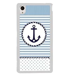 PrintVisa Swear Like A Sailor High Gloss Designer Back Case Cover for Sony Xperia M4 Aqua :: Sony Xperia M4 Aqua Dual