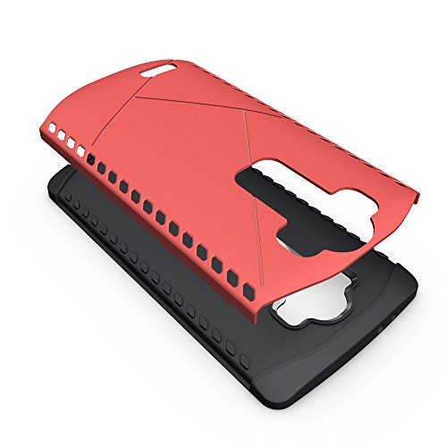 Nexus 5X Coque,EVERGREENBUYING Ultra Slim 2 léger couche LG Google Nexus 8 Premium TPU Souple Etui de Protection, absorbant les chocs Anti-rayures Case Cover pour Lg Nexus 5X Argent Rose