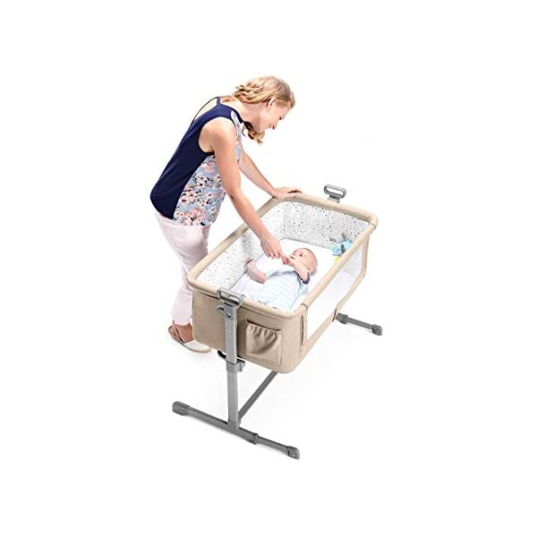 Kinderkraft Neste 2in1 Cot with Mattress Baby Bed Children Baby Travel Cot kk KinderKraft  4