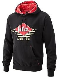 Lee Cooper s Men'Graphic Hooded Sweat-Shirt, schwarz