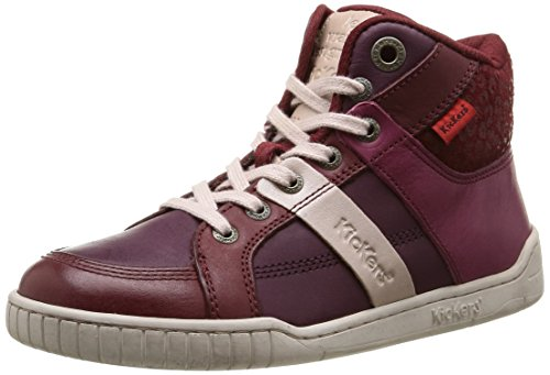Kickers  Wincut,  Sneaker ragazza Rosso Rouge (Rouge/Bordeaux) 33