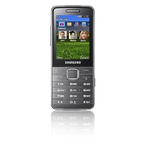 Samsung S5610 Handy (6.1 cm (2.4 Zoll) Display, 5 Megapixel Kamera, 108 MB interner Speicher) (Handy Akkulaufzeit)