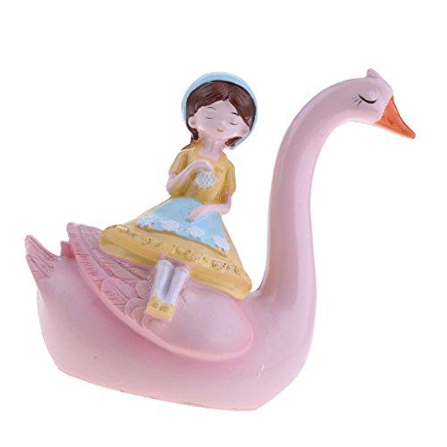 non-brand MagiDeal Rosa Flamingo Kuchen Topper für Kinder Geschenk Geburtstag Hochzeit Baby Dusche Weihnachtsdekoration, 4 Form Zum auswählen - 3