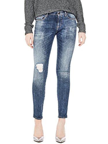 Guess Curve X, Jeans Slim Donna Blu